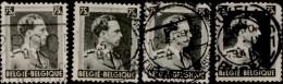 Belgique 1938. ~ YT 480 Par 4 - 75 C. Léopold III