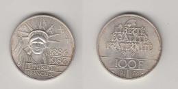 100 FRS 1986 - TYPE REPUBLIQUE - ARGENT - France