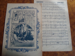 Ancien Document Papier Chanson ,légende L'ANE DE SAINT NICOLAS/camille SOUBISE/Edmond MISSA,paroles Et Musique - Vieux Papiers