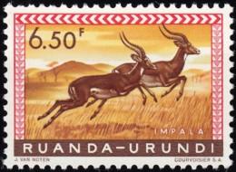 RUANDA-URUNDI - Scott #146 Aepyceros Melampus / Mint NH Stamp - Ruanda-Urundi