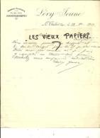 88 - Vosges - LE THILLOT - Facture LEVY - Draperies, Nouveautés, Ameublements – 1910 - REF 44 - 1900 – 1949