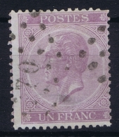 Belgium:  OBP Nr 21 Used  1865