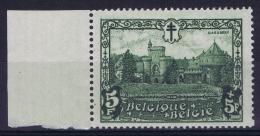 Belgium:  OBP Nr  314 MNH/**/postfrisch/neuf Sans Charniere  Sheet Margin  TBC Vertical (original) Gum Fold - Neufs