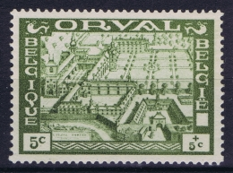 Belgium:  OBP Nr 363 MNH/**/postfrisch/neuf Sans Charniere  1933 Grote Orval Grande Orval - Belgique