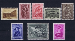 Belgium:  OBP 504 - 511 MNH/**/postfrisch/neuf Sans Charniere  1939