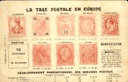 TIMBRE DU MONDE - L'imaginaire Du Timbre Sur Carte Postale – Détaillons Belle Collection – A Voir - 19372 - Briefmarken (Abbildungen)