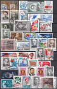 Sowjet Unie - Selectie Zegels - Gebruikt-gebraucht-used - Afgeweekt - SSU1 - Postzegels