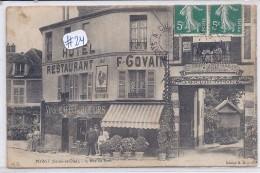 POISSY--RSTAURANT GOVAIN-AU REVEIL MATIN ET ANNEXE DU GARAGE BRIEL-L ESTURGEON - Poissy