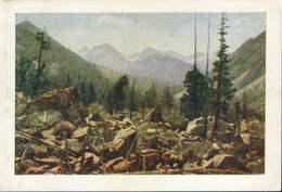 Russia/Altai Republic - Postcard 1961 Unused - Altai - The Lower Of The River Valley Kuragan - 2/scans - Russie