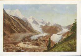 Russia/Altai Republic - Postcard 1961 Unused - Altai - Mount Belukha And The Katun Glacier - 2/scans - Russie