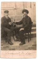 PHOTO,,,  SOUVENIR De 1915,,,,,BOIRE Un PETIT COUP  C' EST  AGREABLE ! ! ! - Gruss Aus.../ Grüsse Aus...