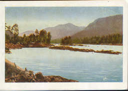 Russia/Altai Republic - Postcard 1961 Unused - Altai - Katun River Near The Village. Elekmonar - 2/scans - Russie