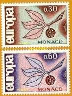 Monaco **LUXE 1965 P 675 Et 676 Paire EUROPA - Monaco
