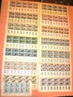 Monaco **LUXE 1964 P 637 à 651 Série 15v En Bloc De 10 Coin Daté              La Photo Est Celle Du Produit Fourni. - Monaco
