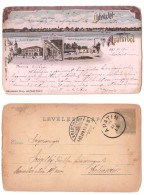 APATIN Serbia, Hungary, Litho Postcard Mailed In 1903 - Serbia