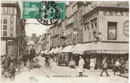 CPSM - 08 - CHARLEVILLE -  Grande Rue - - Charleville
