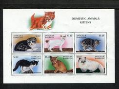 405362704 ANTIGUA DB 1997 POSTFRIS MINT NEVER HINGED POSTFRISCH EINWANDFREI  SCOTT 2104 KATTEN FELINS CHATS - Antigua Et Barbuda (1981-...)