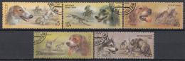 Sowjet Unie - Jachthonden En Jachtscenes - Gebruikt/gebraucht/used - Y 5511-5515 - Honden