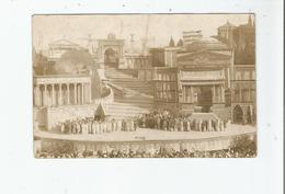 BEZIERS (HERAULT) CARTE PHOTO SCENE DE THEATRE 1910 - Beziers