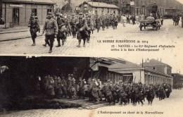 LA GUERRE EUROPEENNE DE 1914 NANTES Le 65 Eme Régiment D'infanterie - Guerre 1914-18