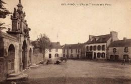 DPT 29 ARGOL L´Arc De Triomphe Et La Place - France