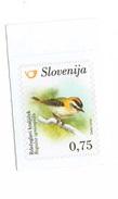 Slovenia - Regulus Ingnicapila 1 Self-adhesive Stamp, MNH