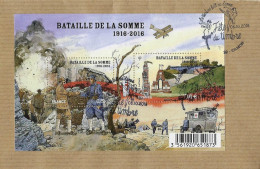 Bloc Centenaire De La Bataille De La Somme - Blokken En Velletjes