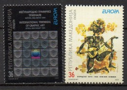 Macédoine - Macedonia - 2003 - Yvert N° 271 & 272 **  - Europa - Macédoine