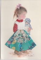 PETITE FILLE, POUPEE - Embroidered
