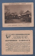 IMAGE LA VACHE QUI RIT - LES COLONIES FRANCAISES - L´INDOCHINE - CAMBODGE - ENVIRONS DE PNOM-PENH - Trade Cards