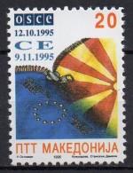 Macédoine - Macedonia - 1995 - Yvert N° 58 **  - Admission à L'OSCE - Macédoine