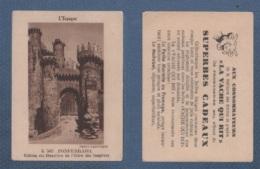 IMAGE LA VACHE QUI RIT - L´ ESPAGNE - PONFERRADA - CHATEAU DES CHEVALIERS DE L'ORDRE DU TEMPLE - PHOTO PALOMEQUE K 505 - Chromos