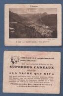 IMAGE LA VACHE QUI RIT - L´ AUVERGNE - LE MONT DORE - VUE GENERALE - PHOTO YVON N 593 - Trade Cards