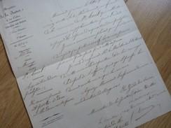 Pierre DESSAURET (1794-1869) - [ Saint Aout, Indre ] Maire SAINT FLOUR. Député CANTAL. Autographe - Autógrafos