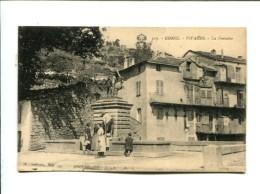 CP -  Vivario  (20) La Fontaine - Francia