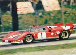 1000kms Di Monza 1970  -  Ferrari 512S  -  Chris Amon  - Carte Postale - Le Mans
