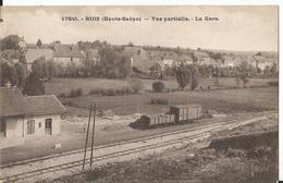 CPA  - Rioz - Vue Partielle - La Gare - - Francia