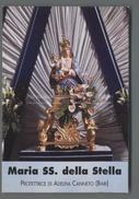 EM2498 MARIA SS. DELLA STELLA PROTETTRICE DI ADELFIA CANNETO BARI Santino Holy Card - Religion & Esotérisme