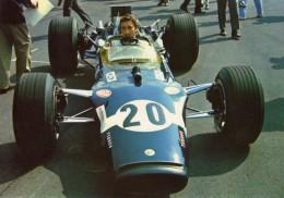 Grand Prix D'Italie 1968 (Monza)  -  Jo Siffert  -  Lotus-Ford F1  - Carte Postale - Grand Prix / F1
