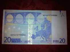 20 EURO - ESTONIE - ESTONIA - D01612799086 - R031 I3 - MD - DRAGHI - Circulated - Ref UD4032 - EURO