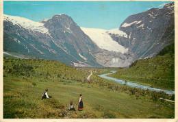 Boyabreen, Fjaerland, Norway Postcard