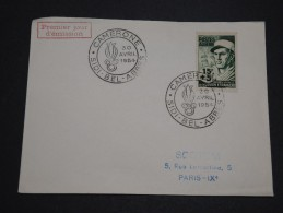 FRANCE / ALGÉRIE - Cachet Et Timbre De La Légion étrangère De Sidi Bel Abbes En 1954 - A Voir - L 4416 - Algérie (1924-1962)