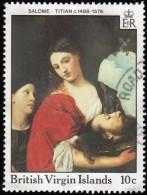 VIRGIN ISLANDS BRITISH - Scott #595 Salome By Titan / Used Stamp - British Virgin Islands