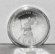 Medaille/Medal Silber/Ag 999 Luxemburg/Luxembourg Europäischer Gerichtshof/EU/European Court Of Justice, 2002 - Other