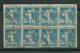 CILICIE- Y&T N°92- Oblitéré En Bloc De 8 (très Beau!!!) - Cilicie (1919-1921)