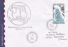 T.A.A.F. - Lettre, Document - Terres Australes Et Antarctiques Françaises (TAAF)
