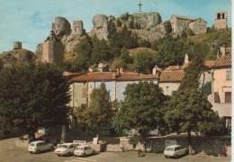 LE CAYLAR : La Place, L'Eglise Et La Tour - France