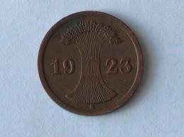 ALLEMAGNE 2 Pfennig 1923 A - [ 3] 1918-1933 : Weimar Republic