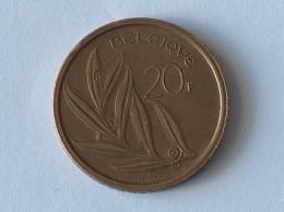BELGIQUE 20 FRANCS 1980 - 07. 20 Francs