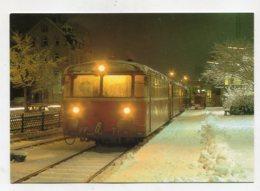 TRAIN - AK284764 Schienenbus 798 572.4 Und Beiwagen Der DB Im Bhf. Weinheim / Bergstr. - Gares - Avec Trains